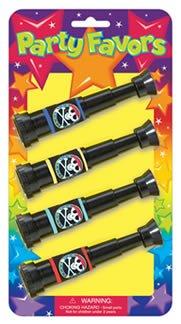Mitbringsel: Spielzeug-Teleskope, 4 Stück - 1