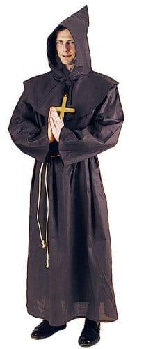 Mönch : Kutte mit Kragen und Kordel - 1