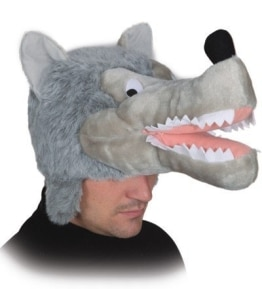 Mütze: Tiermütze, Wolf - 1