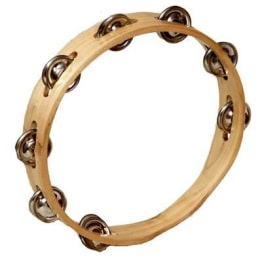 Musikinstrument: Tamburin - 1
