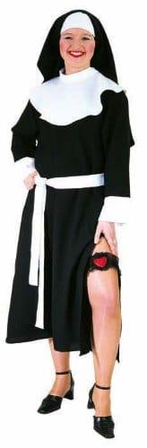 Nonne : Kleid, Haube und Gürtel - 1