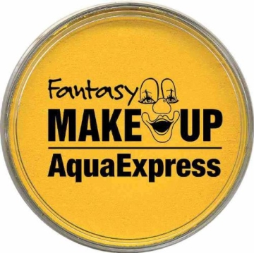 orange AquaExpress-Schminke 15g, Make-Up Aquaschminke Dose - 1