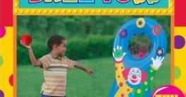 Outdoor-Spielzeug: Wurfspiel mit Clown, aufblasbar - 2