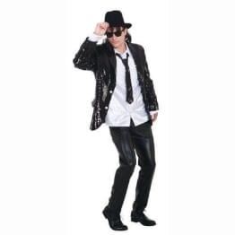 Pailletten Show Jacket schwarz - 1