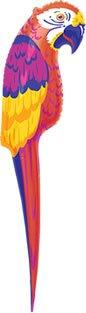 Papagei, aufblasbar, 120 cm - 1