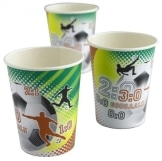 Party-Becher Fussballparty 8er-Pack, Deko WM 2010 - 1