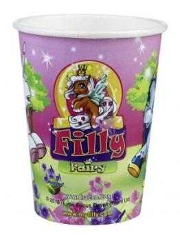"""Party-Becher: Trinkbecher mit dem Motiv """"Filly Fairy"""", 250 ml, 8er-Pack - 1"""