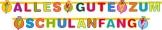 "Party-Kette: Buchstabenkette, ""Alles Gute zum Schulanfang"", 3 m - 1"