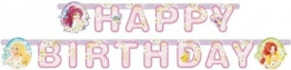 """Party-Kette: Geburtstagskette, Prinzessin, """"Happy Birthday"""", 180 cm - 1"""