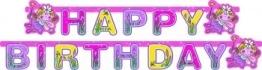 "Party-Kette: Schriftzug ""Happy Birthday"", Funky-Fairy-Serie, 180 x 15 cm - 1"