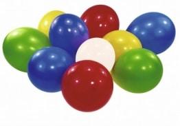 Party-Luftballon: verschiedene Regenbogenfarben, 100er-Pack - 1