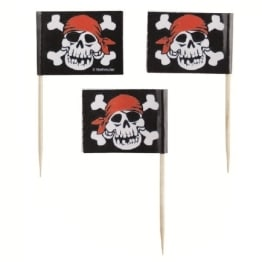 Party-Picker, Jolly Roger, 30er-Pack - 1