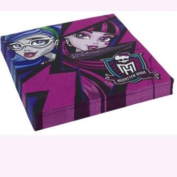 Party-Servietten: Servietten, Monster High, 33 x 33 cm, 20er-Pack - 1