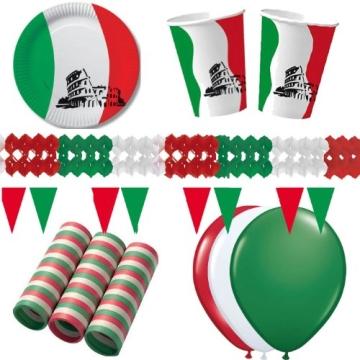 Party-Teller: Pappteller, Italien-Design, 23 cm, 10er-Pack - 2