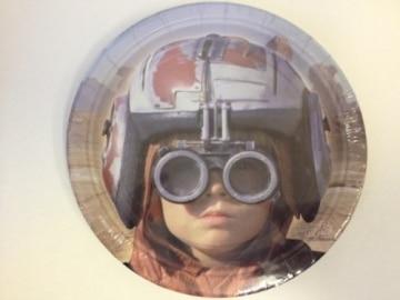 "Party-Teller: Pappteller, Motiv ""Star Wars"", 18 cm Durchmesser, 8er-Pack - 1"