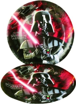 Party-Teller: Pappteller, Star Wars, 23 cm, 8er-Pack - 1