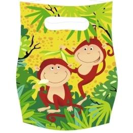 """Party-Tüten: Geschenktüten, """"Safari"""", 6er-Pack - 1"""