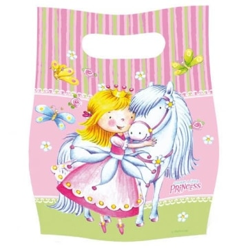 "Party-Tüten: Geschenktüten, ""Sweet Little Princess"", 6er-Pack - 1"