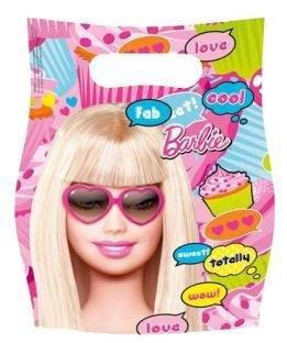 """Party-Tüten: Geschenktüten, """"Totally Barbie"""", 6er-Pack - 1"""