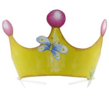 """Partyhut: Krönchen, """"Sweet Little Princess"""", 6 Stück - 1"""