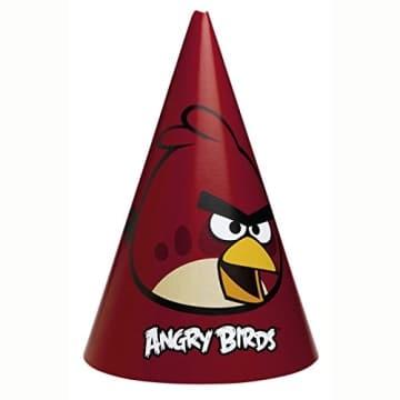 "Partyhut: Partyhütchen, Motiv ""Angry Birds"", 6 Stück - 1"