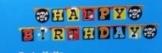 Partykette PIRATENPARTY, Banner Happy Birthday - 1