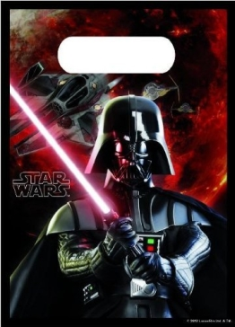Partytüten: Geschenktüten, Star Wars, 6er-Pack - 1