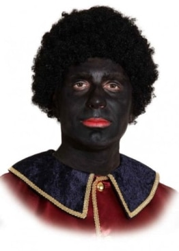"""Perücke: Afro-Perücke """"Schwarzer Piet"""", schwarz - 1"""