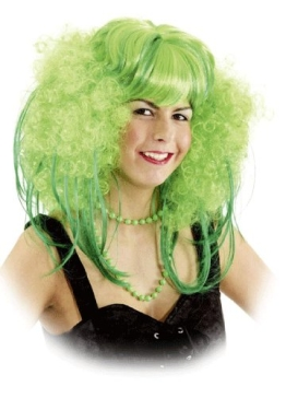 Perücke Betsy, grün - 1