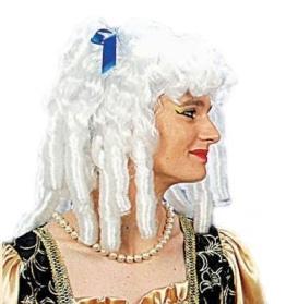 """Perücke: Damen-Perücke """"Marquise"""", weiß, Schillerlocken - 1"""