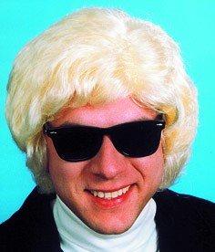 """Perücke: """"Heini"""", blond, mit schwarzer Sonnenbrille - 1"""