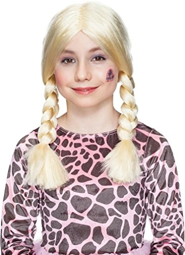 "Perücke: Kinderperücke ""Gretchen"", blond - 1"