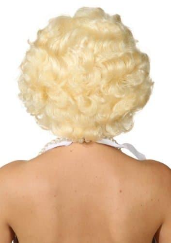 Perücke, kurzes Marylin-Haar, blond oder schwarz - 2