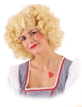 """Perücke: Locken-Perücke """"Resi"""", blond - 1"""