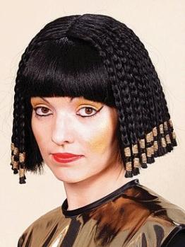 """Perücke: """"Nofretete"""", schwarze Haare, Ägypten - 1"""