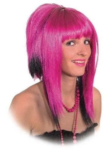 """Perücke: Perücke """"Lilly"""", pink-schwarz - 1"""