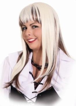 Perücke Shirley blond-braun - 1