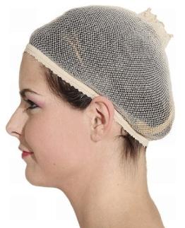 Perückenkappe: Haarnetz für Perücken - 1
