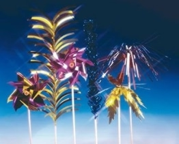 Picker: Glitter-Party-Sticks, 20 cm, 10er-Pack - 1