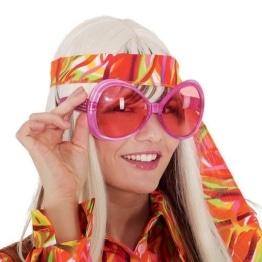 Pinke Sonnenbrille, trendy - 1