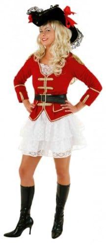 Pirate Lady : Jacke, Spitzenrock und Gürtel - 1