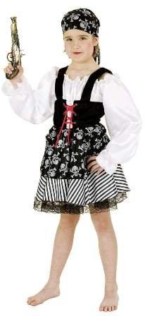 Piratin, Kostüm für Kinder - 1
