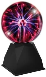 Plasmaball: Plasmalampe, reagiert auf Ton und Berührung, 175 x 175 x 320 mm - 1