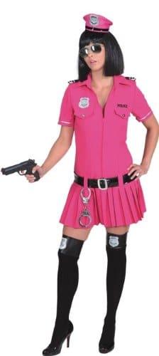 Police Girl pink : Kleid und Gürtel - 1