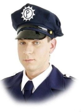 Polizei-Mütze, Größe 56 – 60 - 1