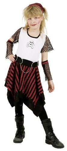 Punky Girl rot-schwarz - 1