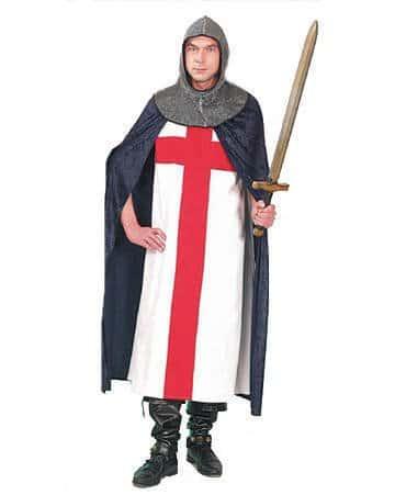 Ritter-Kostüm: Waffenrock für Kreuzritter - 1