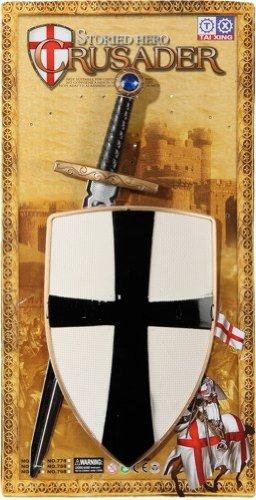 Ritter-Set für Kinder: Schild und Schwert - 1