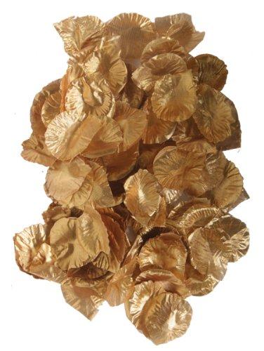 Rosenbl tter textil gold 144er pack party deko for Party deko shop