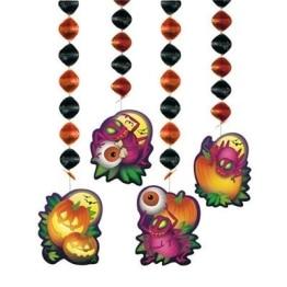Rotorspirale: Halloween-Rotorspiralen, 80 cm, 4er-Pack - 1